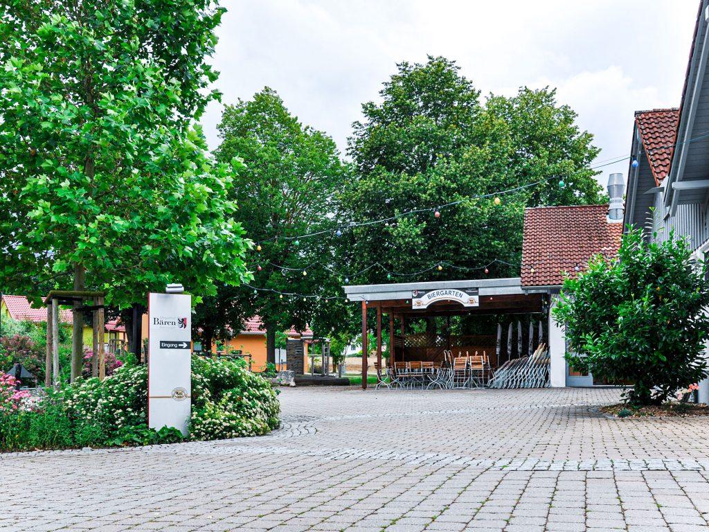 Albgasthof Bären Eingangsbereich